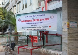 Thalassemia Check-up Camp in India